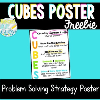 CUBES Strategy Poster *FREEBIE*