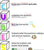CUBES Strategy Posters and Journal Poster