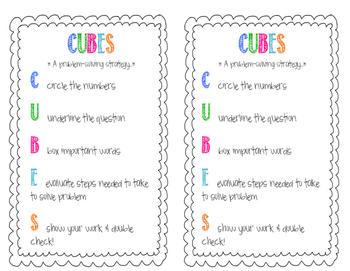 CUBES Student Handout
