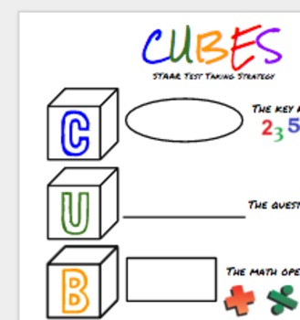 CUBES - Test Taking Strategy