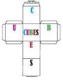 CUBES Word Problem Foldable