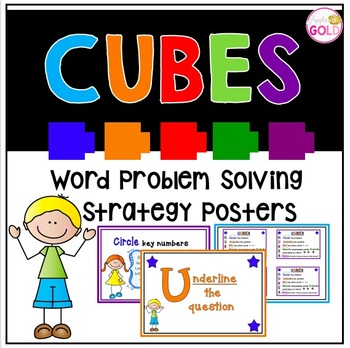 CUBES Word Problem Solving Strategy Posters