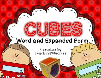 CUBES! - Word and Expanded Form