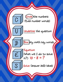 CUBES for word problems