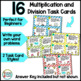 CUBES Word Problem Strategy Posters with Multiplication and Division Task Cards
