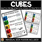 CUBES Word Problem Strategy Poster