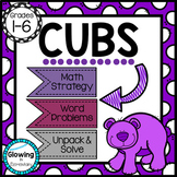 CUBS to Solve Word Problems
