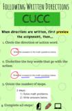 CUCC Strategy for Following Written Instructions