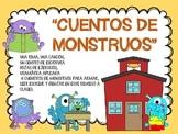 """""""CUENTOS DE MONSTRUOS."""" BACK TO SCHOOL SPANISH. REGRESO A CLASES EN ESPAÑOL"""