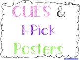 CUES and I-Pick Labels