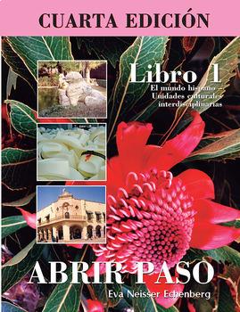 BEST SELLER - SP 1 Cultural activities ABRIR PASO LIBRO 1 BUNDLE- 15 Workbooks