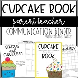CUPCAKE Communication Binder - Editable