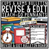 Revising and Editing - ARMS & CUPS Anchor Charts & Revise & Edit Posters
