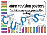 CUPS (Capitalization, Usage, Punctuation, Spelling) Posters