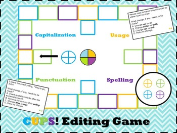 CUPS! Editing Game