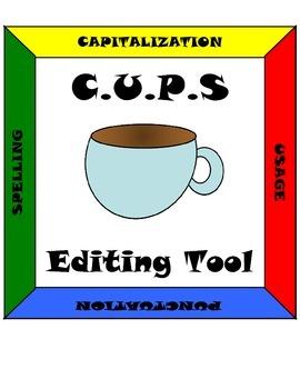 C.U.P.S. Editing Tool