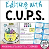 CUPS Editing and Proofreading for Capitalization Usage Punctuation Spelling