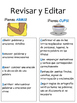 CUPS and ARMS Revising Printable in Spanish