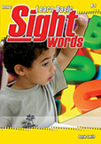 Learn Basic Sight Words - Book 2