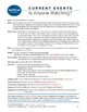CURRENT EVENTS - Hurricane Michael