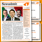 CURRENT EVENTS - Italy's new populist government plus other international news