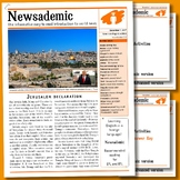 CURRENT EVENTS - Jerusalem declaration plus other internat
