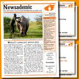 CURRENT EVENTS - World's loneliest rhino dies & other international news