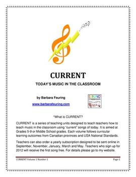 CURRENT (V1 N1) - Today's Music In The Classroom
