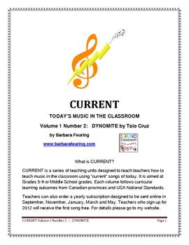CURRENT (V1 N2) - Today's Music In The Classroom