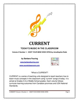 CURRENT (V2 N1) - Today's Music In The Classroom