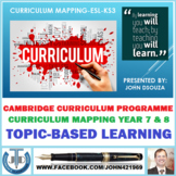 CURRICULUM MAPPING-ESL-KS3: PRESENTATION