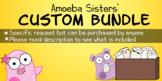 CUSTOM Amoeba Sisters Bundle: All Select Handouts up to th