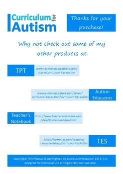 CUSTOM BUNDLE 20% off, Autism & Special Education