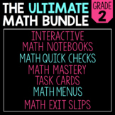 The Ultimate 2nd Grade Math Bundle