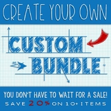 CUSTOM BUNDLE - CREATE YOUR OWN BUNDLE OF AWESOME SCIENCE