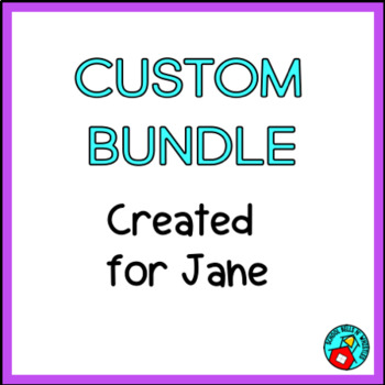 CUSTOM BUNDLE FOR JANE