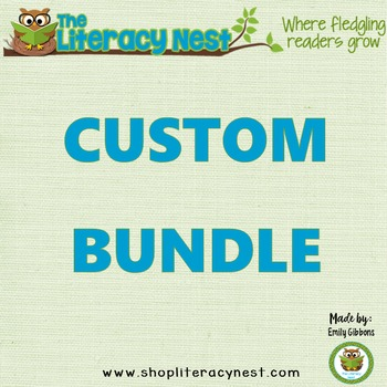 CUSTOM BUNDLE: ORTON-GILLINGHAM For ~L.M.~