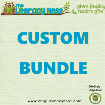 CUSTOM BUNDLE: ORTON-GILLINGHAM Levels 1-3