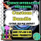 CUSTOM BUNDLE- Save 25% on 5 or more products! (Back to School)