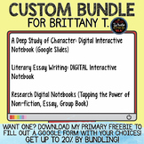 CUSTOM BUNDLE for Brittany T.