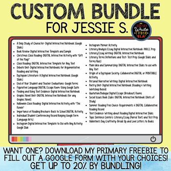 CUSTOM BUNDLE for Jessie S.