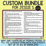 CUSTOM BUNDLE for Jessie S.