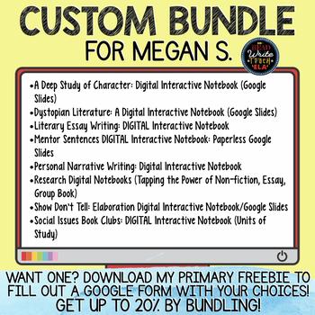 CUSTOM BUNDLE for Megan S.