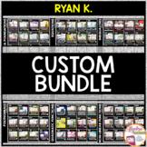CUSTOM BUNDLE for RYAN K.