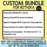 CUSTOM BUNDLE for Rithika