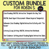 CUSTOM BUNDLE for Robin S.