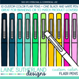 CUSTOM COLOR Flair Pens
