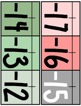 CUSTOM Cactus Theme Classroom Number Line