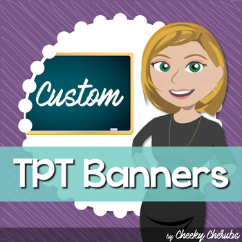 CUSTOM TPT Banners (Long + Small Banners)