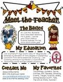 CUSTOM Meet the Teacher Flyer